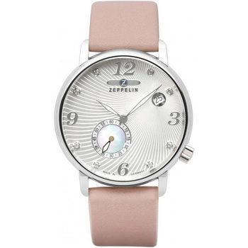 Relojes & Joyas Mujer Relojes analógicos Zeppelin 7631-4, Quartz, 35mm, 5ATM Plata