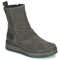 Zapatos Mujer Botas de caña baja Fly London RENO Gris