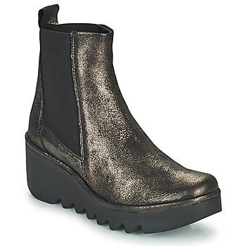 Zapatos Mujer Botines Fly London BAGU Gris / Oro