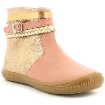 Zapatos Niña Botas de caña baja Aster Franciska Rosa