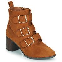Zapatos Mujer Botas urbanas Moony Mood PAOLA Camel