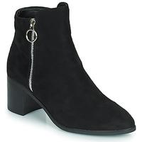 Zapatos Mujer Botas urbanas Moony Mood PETROLIA Negro
