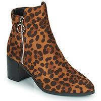 Zapatos Mujer Botines Moony Mood PETROLIA Camel