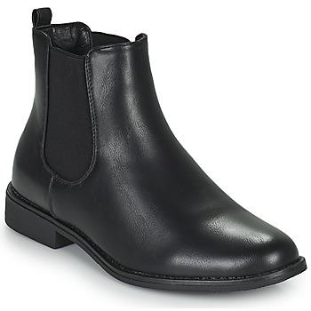 Zapatos Mujer Botas de caña baja Moony Mood PIRYL Negro
