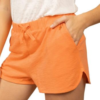 textil Mujer Shorts / Bermudas Deeluxe  Naranja
