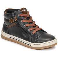 Zapatos Niño Zapatillas altas Mod'8 KYNATA Marino / Marrón