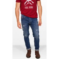 textil Hombre Vaqueros slim Skull Rider SRF21S11009-034 034