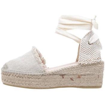 Zapatos Mujer Alpargatas Macarena  Beige
