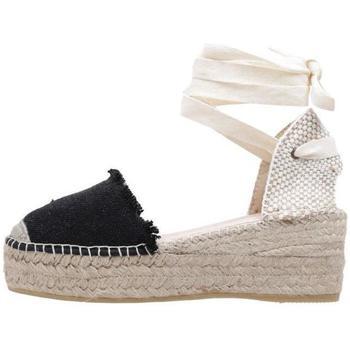 Zapatos Mujer Alpargatas Macarena  Negro
