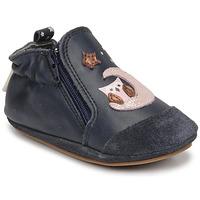 Zapatos Niña Pantuflas para bebé Robeez NICE OWL Marino