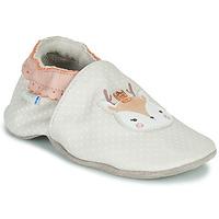 Zapatos Niña Pantuflas para bebé Robeez FANCY SNOW Beige