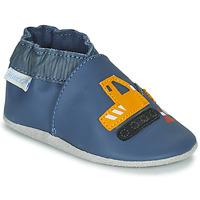 Zapatos Niño Pantuflas para bebé Robeez YARD ROAD Azul / Amarillo