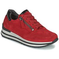 Zapatos Mujer Zapatillas bajas Gabor 7652868 Rojo
