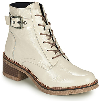 Zapatos Mujer Botines Dorking LUCERO Crudo