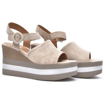 Zapatos Mujer Sandalias Alpe KENYA Beig