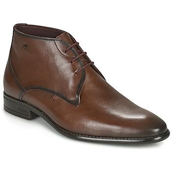 Zapatos Hombre Botas de caña baja Fluchos ALEX Marrón