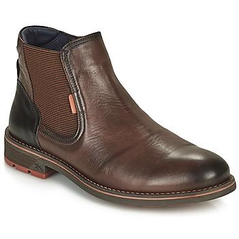 Zapatos Hombre Botas de caña baja Fluchos TERRY Marrón