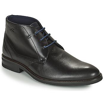 Zapatos Hombre Botas de caña baja Fluchos OLIMPO Negro