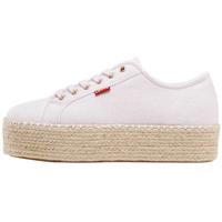 Zapatos Mujer Alpargatas Levi's Strauss ZAPATILLA LEVI'S LAVIC WHITE MUJER Blanco