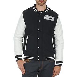 textil Hombre cazadoras Wati B OUTERWEAR JACKET Negro / Blanco