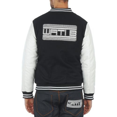 Cazadoras NegroBlanco Textil Wati Hombre Jacket Outerwear B dCxthrBsQ