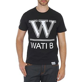 textil Hombre camisetas manga corta Wati B TEE Negro