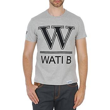 textil Hombre camisetas manga corta Wati B TEE Gris
