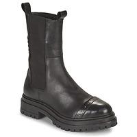Zapatos Mujer Botas de caña baja Ikks BT80095 Negro