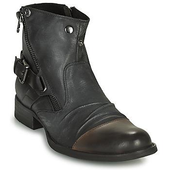 Zapatos Hombre Botas de caña baja Kdopa DETROIT Negro