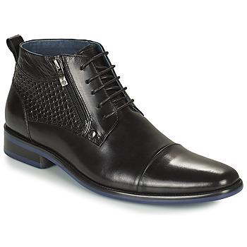 Zapatos Hombre Botas de caña baja Kdopa JACKSON Negro