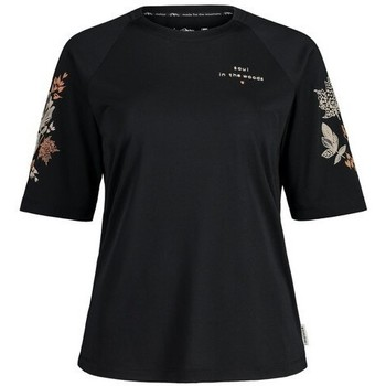 textil Camisetas manga corta Maloja HolunderM. Negro