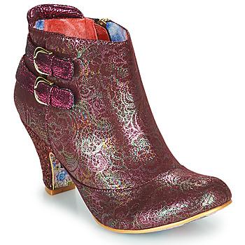 Zapatos Mujer Botines Irregular Choice THINK ABOUT IT Burdeo