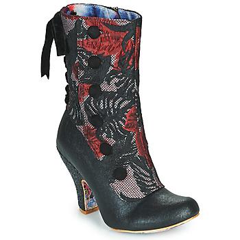 Zapatos Mujer Botines Irregular Choice REINETTE Negro / Rojo