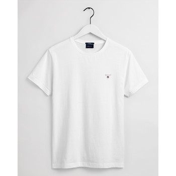 textil Hombre Polos manga corta Gant Camiseta Original Blanco