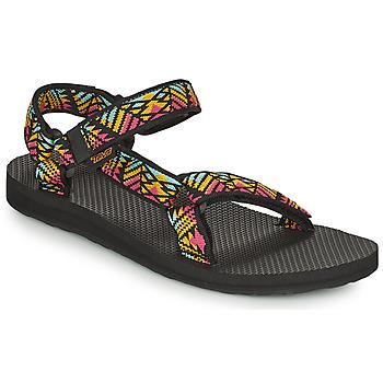Zapatos Mujer Sandalias Teva Original Universal Negro / Multicolor