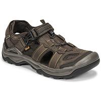 Zapatos Hombre Sandalias Teva M OMNIUM 2 LEATHER Marrón