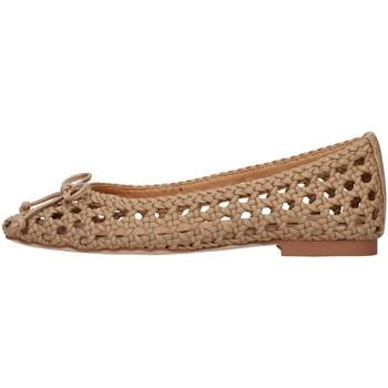 Zapatos Mujer Bailarinas-manoletinas Alma Blue V21BL8102 BEIGE