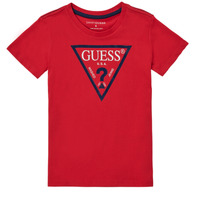 textil Niño Camisetas manga corta Guess THERONN Rojo