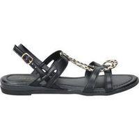 Zapatos Mujer Sandalias Isteria SANDALIAS  21073 MODA JOVEN NEGRO Noir