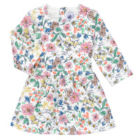 textil Niña Vestidos cortos Petit Bateau ROPPAL Multicolor