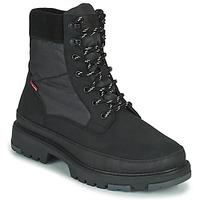 Zapatos Hombre Botas de caña baja Levi's TORSTEN QUILTED Negro