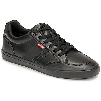 Zapatos Hombre Zapatillas bajas Levi's TURNER 2.0 Negro