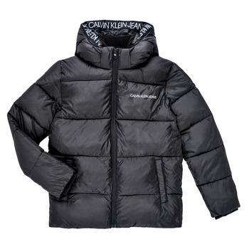 textil Niño Plumas Calvin Klein Jeans LITHERA Negro