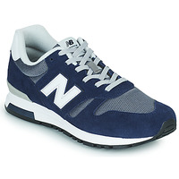 Zapatos Hombre Zapatillas bajas New Balance 565 Azul / Gris