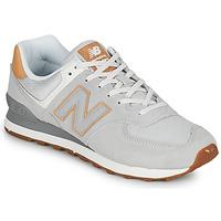 Zapatos Hombre Zapatillas bajas New Balance 574 Gris / Beige