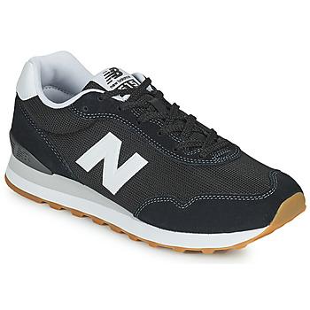 Zapatos Hombre Zapatillas bajas New Balance 515 Negro / Blanco