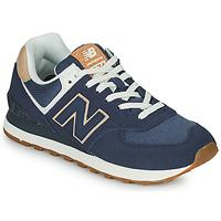 Zapatos Mujer Zapatillas bajas New Balance 574 Azul