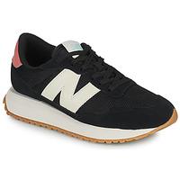 Zapatos Mujer Zapatillas bajas New Balance 237 Negro / Blanco / Rosa