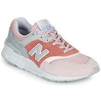 Zapatos Mujer Zapatillas bajas New Balance 997 Rosa / Gris