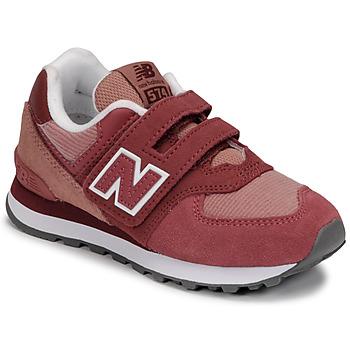 Zapatos Niña Zapatillas bajas New Balance 574 Rosa